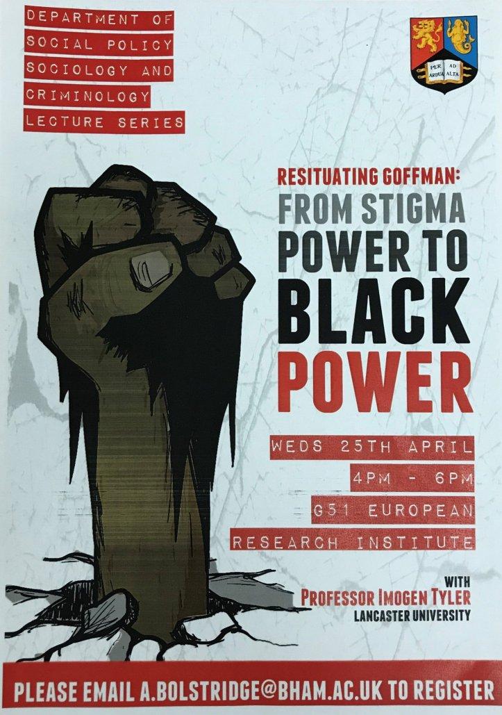 from stigma power to black power