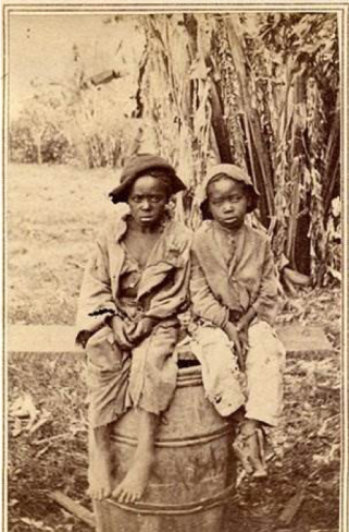 child plantation slaves