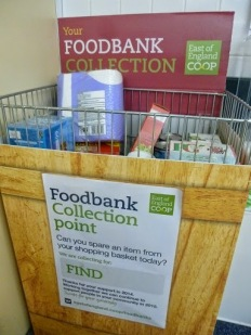 Food bank collection point