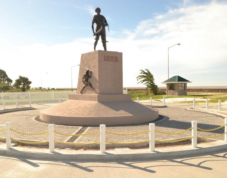 Quamina-monument